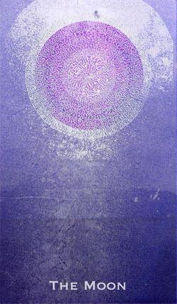 'The Moon' tarot card- Artist: Leya Daccache !:)