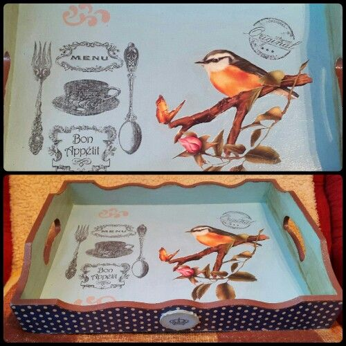 Decoupage and transfer