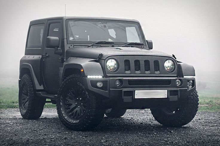 We don't know how the new Wrangler will look. We hope it looks something like the Chelsea x Kahan Jeep Wrangler Black Hawk. Instantly identifiable by its redesigned four-slot grille and custom front bumper, it has a vented hood, a...