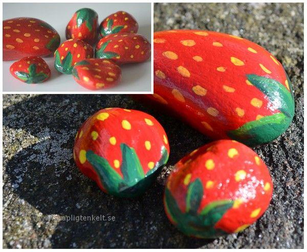 Skapligt Enkelt: Svårsmälta jordgubbar...