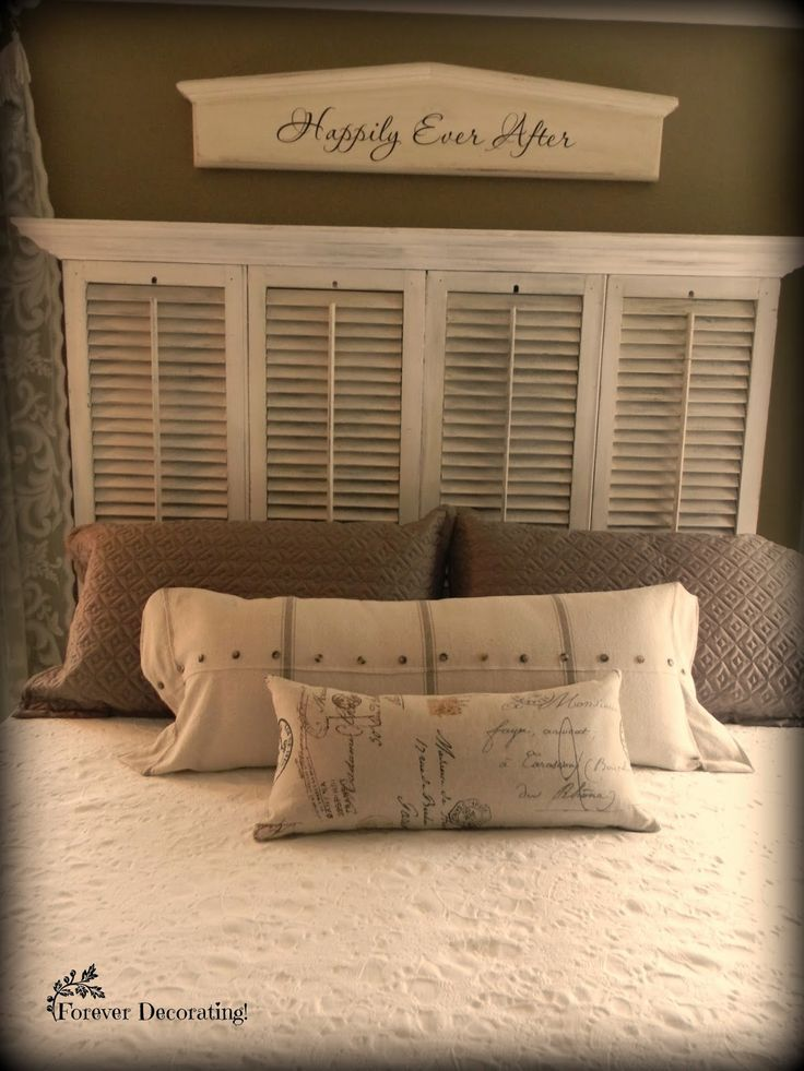 World Bedroom Furniture: 25+ Best Old Shutters Ideas On Pinterest