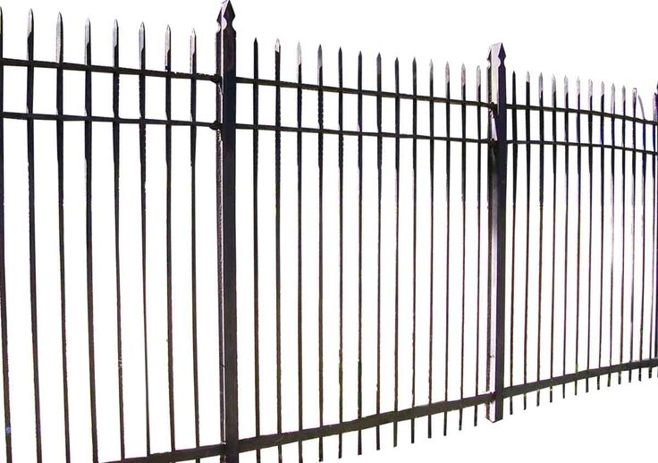 7 ft. High Wrought Iron Fence
