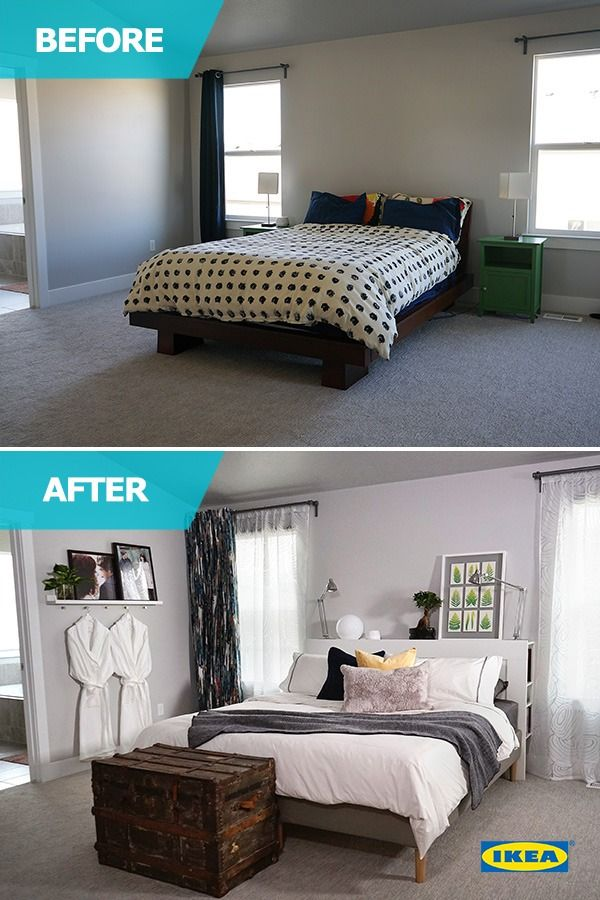 Tiny Bedroom Tour Courtney S Room: The IKEA Home Tour Squad Helps A Busy Couple With A