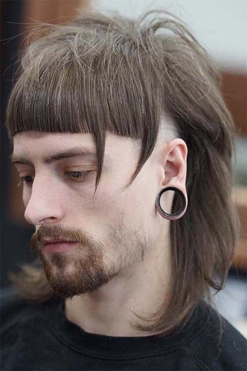 Side Shaved Long Hairstyle For 2019 Men Hairstyles Pinterest