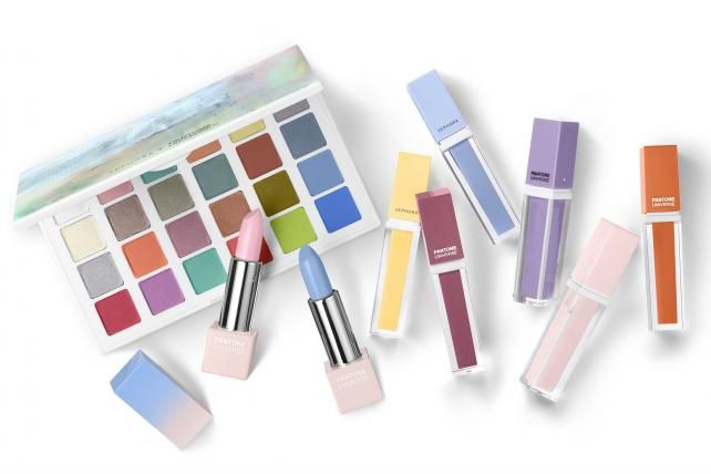 Sephora partners with Pantone on a Color of the Year collection.: