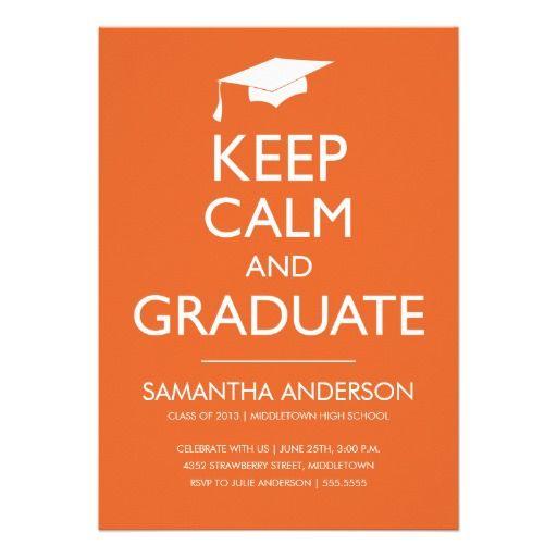 15 best Graduation announcement templates images on Pinterest - announcement template