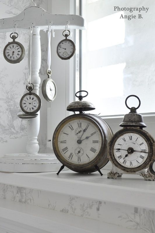clocks are curious things.