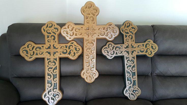 Different designs of crosses