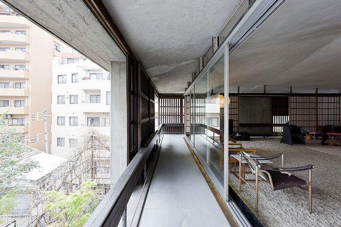 The house the Japanese architect Kiyonori Kikutake (1928-2011)