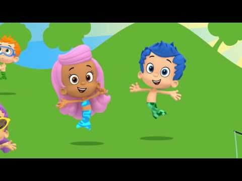 Bubble Guppies The Summer Camp Games - YouTube | Nick Jr ...