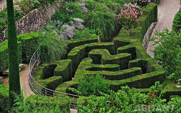 Частный сад-лабиринт