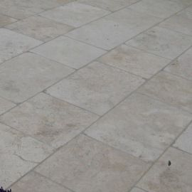 Dalle travertin 61 x 40,6 cm, ép.1,2 cm