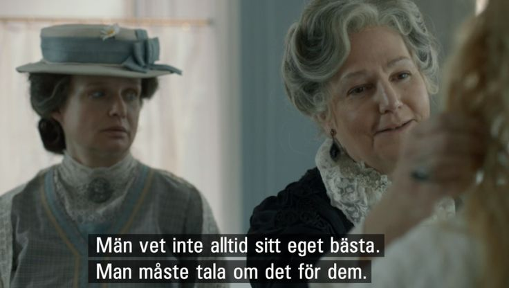 Fröken Frimans Krig /haha. maybe not always true. but still. hilarious. love that show.