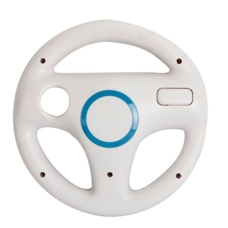 >> Click to Buy << Hot White Plastic Steering Wheel For Nintendo for Wii Mario Kart Racing Games Remote Controller Console Free Shipping #Affiliate