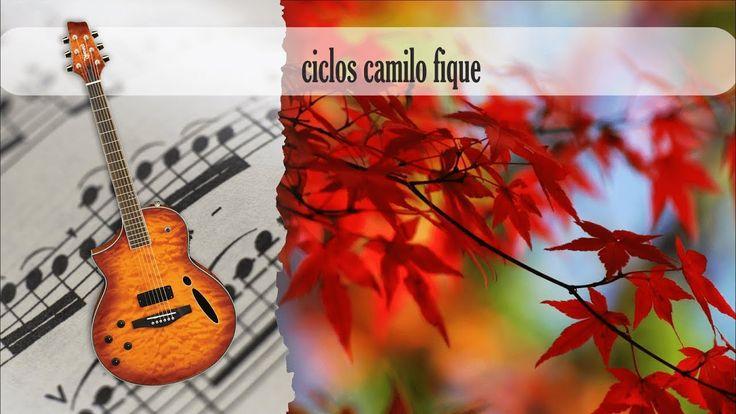 Partitura y Tablatura ciclos camilo fique Guitarra Acústica