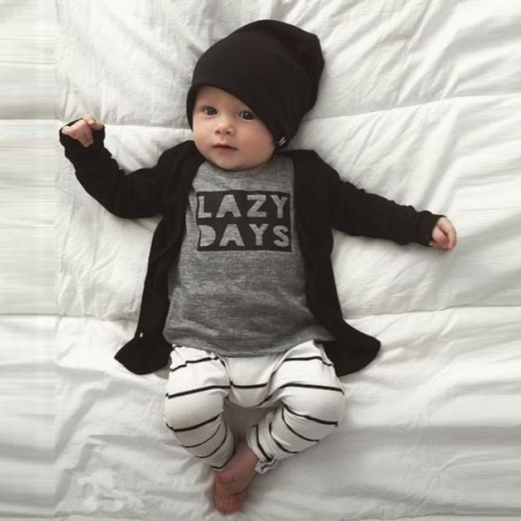 Lazy Days Set – Baby out fits