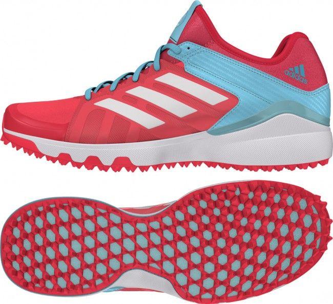 Adidas Hockey Lux W Shock Red Hockey Shoes 2016