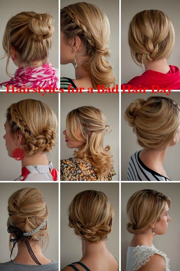 Hairstyles for a Bad Hair Day