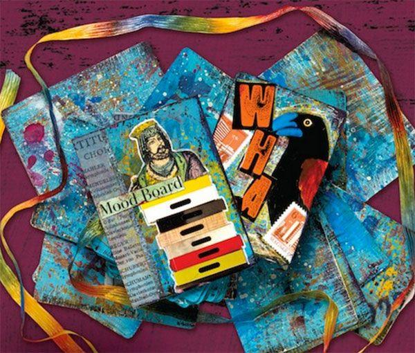 Idéias de arte de mídia mista    Seth Apter, ClothPaperScissors.com
