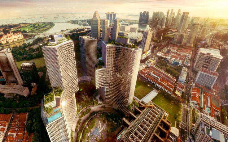 南アジア初進出 2017年9月アンダーズ シンガポールが開業