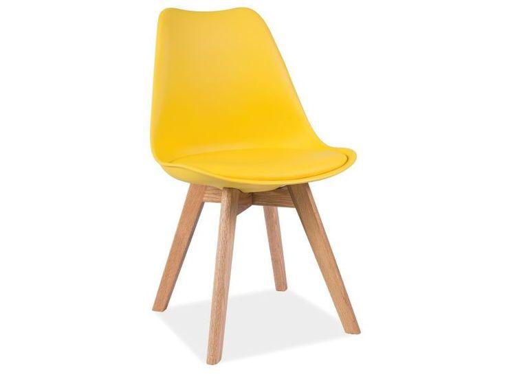 Design krzesła Kris, oferowanego przez Nowoczesne Meble, zainspirowany jest światowymi trendami we wnętrzarstwie.