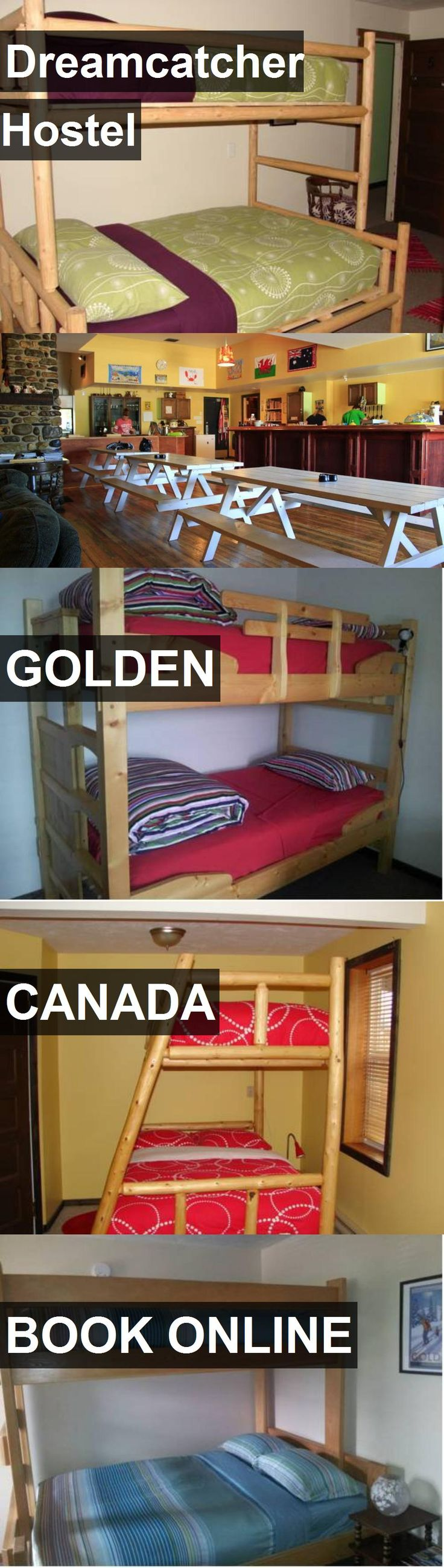 Dreamcatcher Hostel in Golden, Canada. For more information, photos, reviews and best prices please follow the link. #Canada #Golden #travel #vacation #hostel