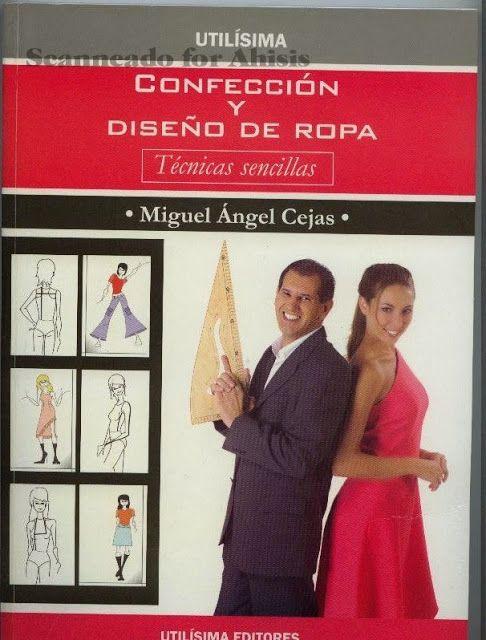 Miguel Angel Cejas - confección y diseño de ropa - modelist kitapları