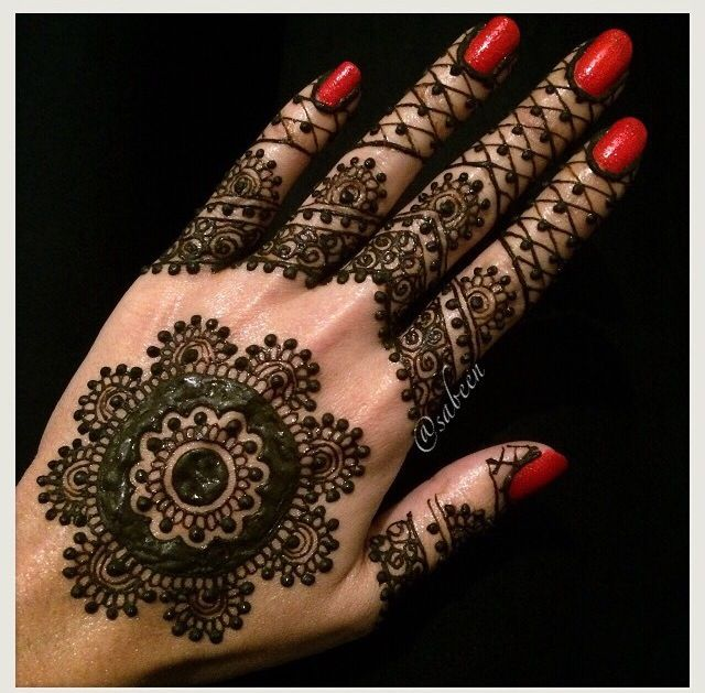 Mehndi Decoration Quote : Pretty mehndi simple henna designs pinterest