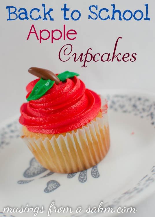 Back to School Cupcakes RecipeSchools Theme Cupcakes, Cupcake Recipes, Theme Parties, Schools Apples, Cupcakes Recipe, Teachers Theme Cupcakes, Back To Schools Cupcakes Ideas, Apples Cupcakes, Cupcakes Apples Teachers