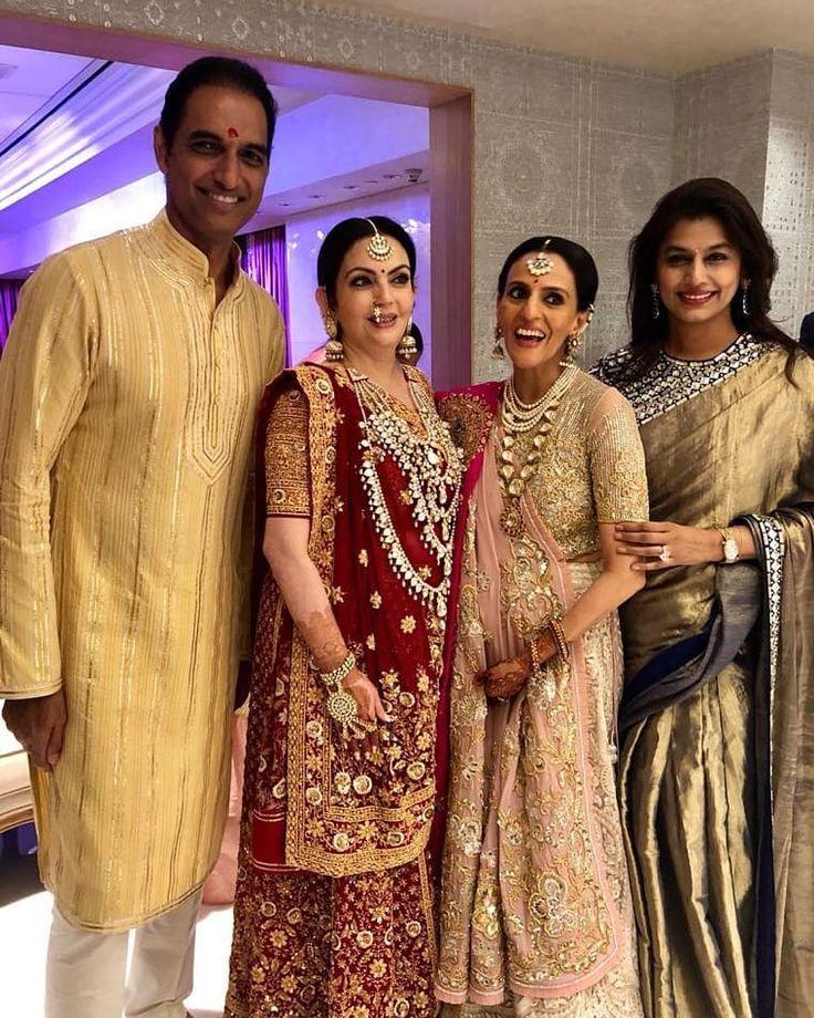 It's A Family Affair! Sanjay Reddy Nita Ambani Mona Mehta ...