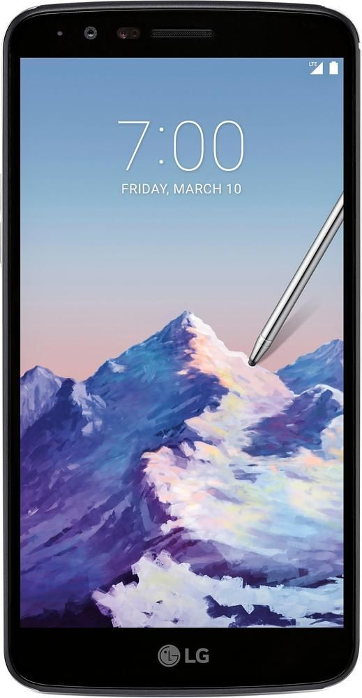 Boost Mobile - LG Stylo™ 3 4G LTE with 16GB Memory Prepaid Cell Phone - Metallic Titan