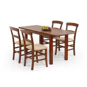 120-as étkező asztal  Fa étkező asztalok