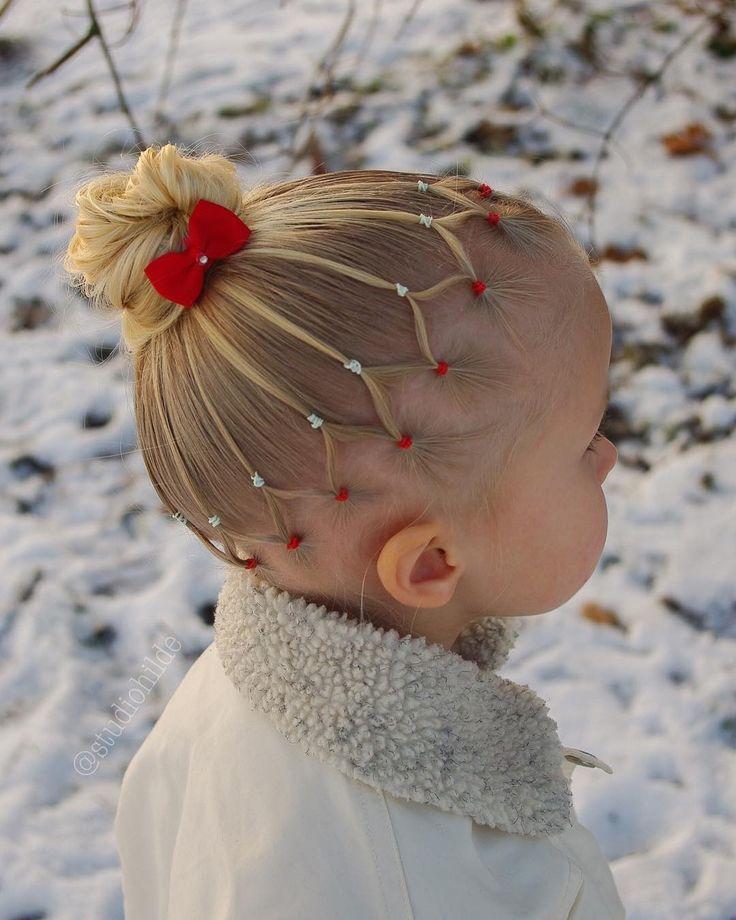 A cute hair for Hannah