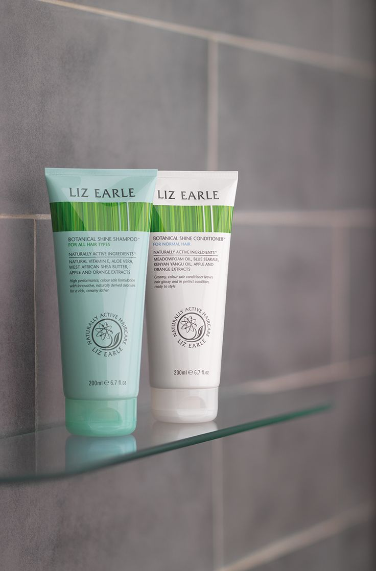 Botanical Shine Shampoo & Conditioner | Liz Earle Naturally Active Skincare