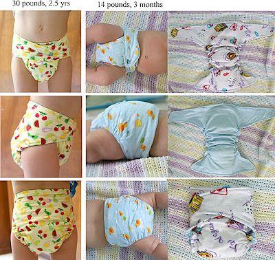 Free cloth diaper pattern