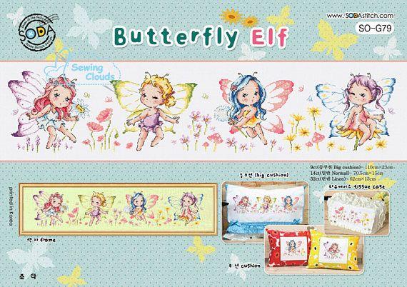 Ehi, ho trovato questa fantastica inserzione di Etsy su https://www.etsy.com/it/listing/526118100/butterfly-elf-schema-punto-croce