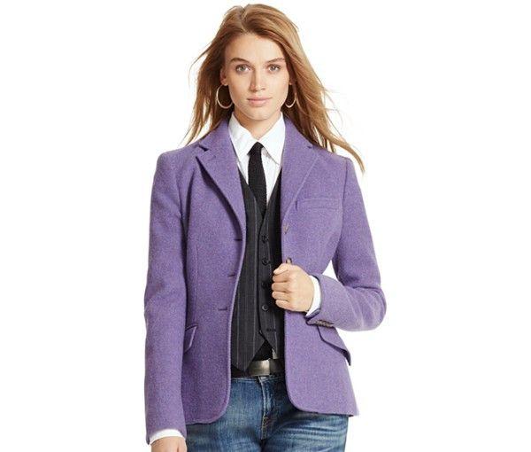 Polo Ralph Lauren Wool-Alpaca-Blend Jacket