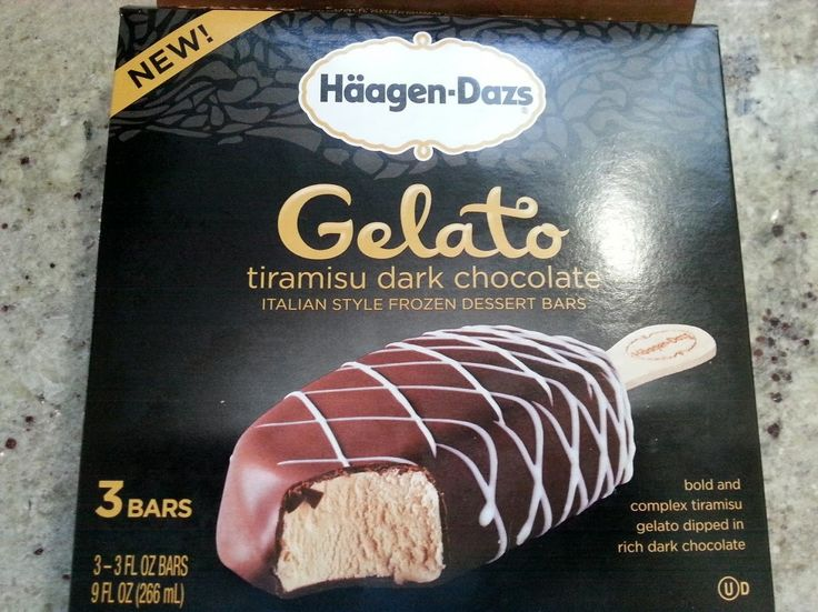 READER REVIEW: Haagen Dazs Tiramisu Dark Chocolate Gelato Bars