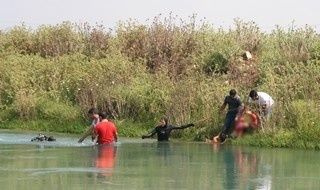 Otomobil kanala düştü, baba ve kızı boğuldu - SAMSUNHABER,SAMSUN HABER SİTESİ,SONDAKİKA,ENSON HABERLER