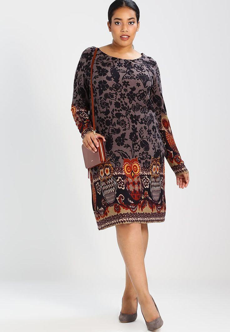 Kleding Anna Field Curvy Gebreide jurk - grey/orange Grijs: € 34,95 Bij Zalando (op 26-9-17). Gratis bezorging & retour, snelle levering en veilig betalen!