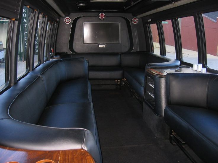Custom Limousine Bus Interiors Homestyle Custom