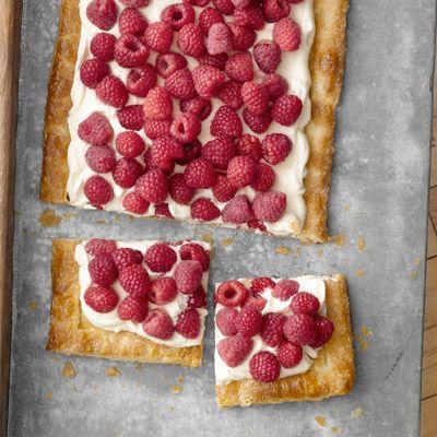 Quick and Easy Raspberry Tart by Nigel Slater: Desserts, Summer Raspberries, Sweet, Food, Country Living, Raspberry Tarts