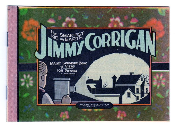 https://flic.kr/p/aN1U5B | Jimmy Corrigan: The Smartest Kid on Earth magic souvenir book of views | Mini-comic by Chris Ware printed on newsprint in the early 1990's