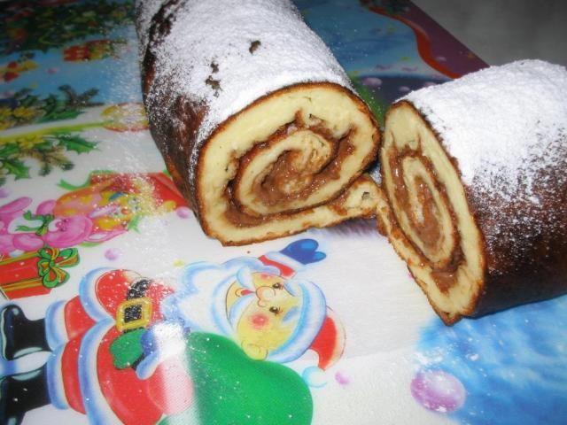 Палачинково руло или печена палачинка :: BG-Mamma