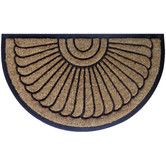 Found it at Temple & Webster - Sunrays Rubber & Coir Doormat
