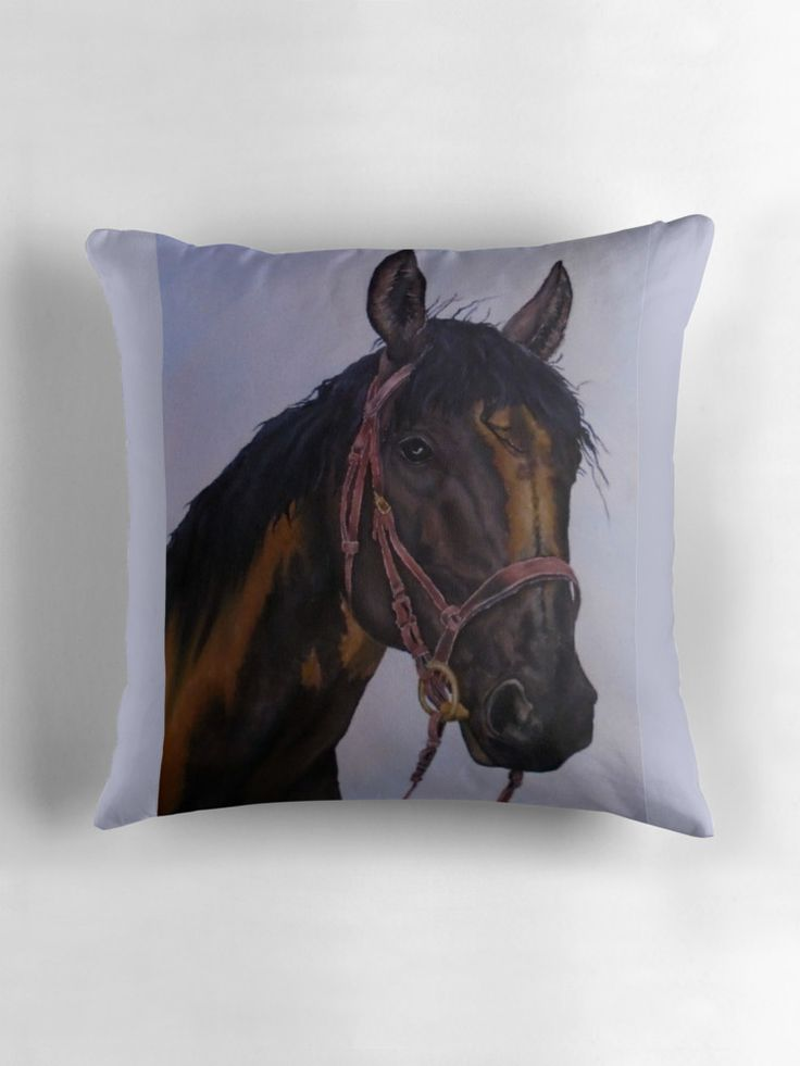 Gifts for horse lovers, Throw Pillow
