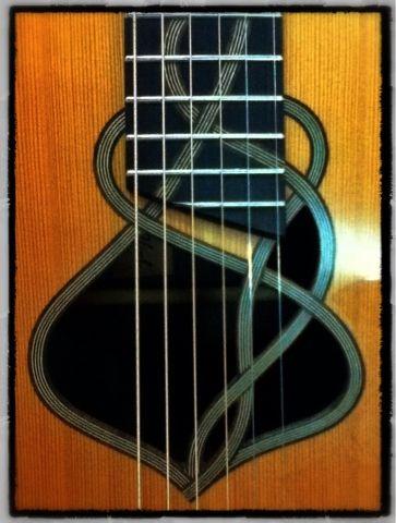 Chitarre di Parma: Particolare della Buca