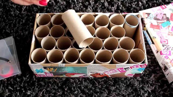 ✚ DIY Boîte à idées & rangement à crayons à 0€