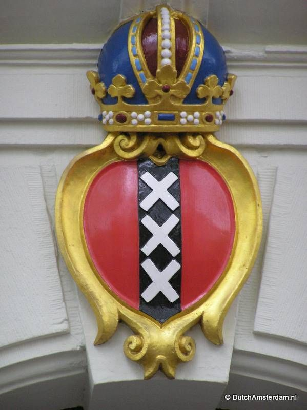 Emblem of the city of Amsterdam