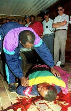 Chris Hani was assassinated on 10 April 1993